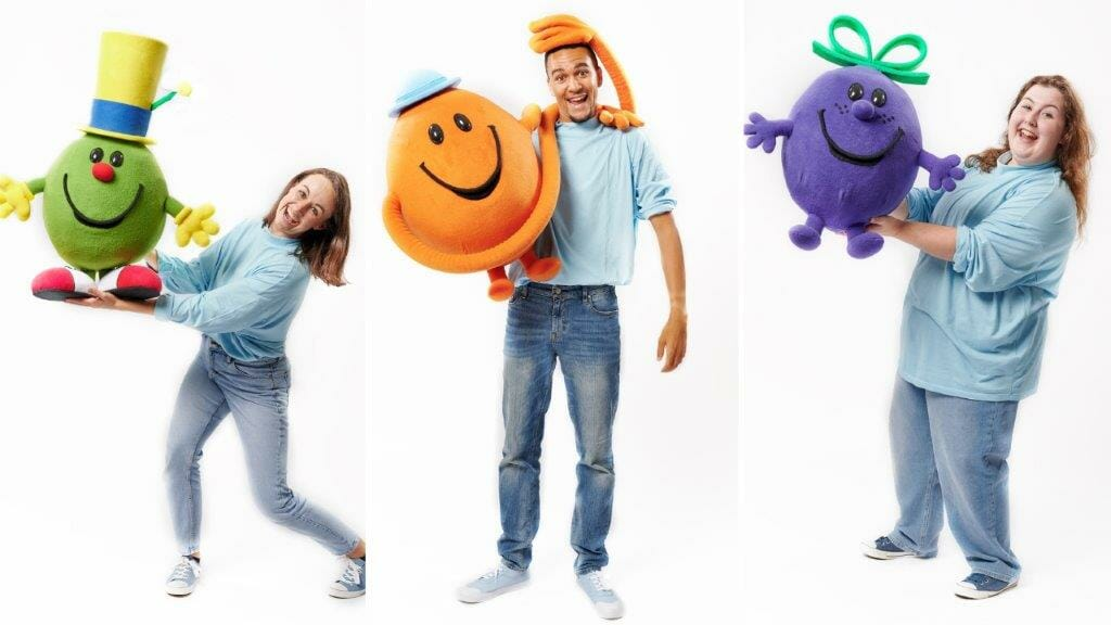 Mr. Men and Little Miss On Stage Cast