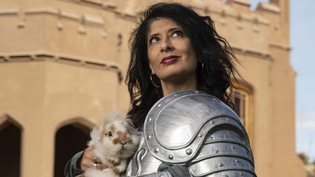Shappi Khorsandi Skittish Warrior... Confessions of a Club Comic