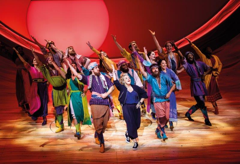 Sheridan Smith and the company of Joseph and the Amazing Technicolor Dreamcoat Photographer Tristram Kenton