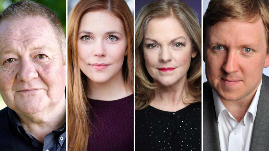 The Cast of Birthdays Past Birthdays Present at Scarboroughs Stephen Joseph Theatre