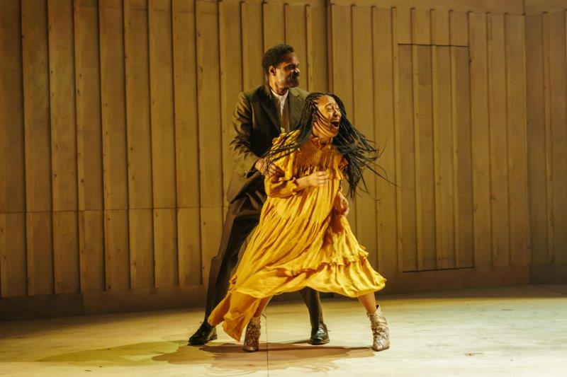 The Color Purple Ako Mitchell Mister and Danielle Fiamanya Nettie Photography by Manuel Harlan