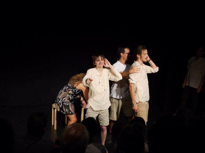 The Parentheticals Improdyssey Camden Fringe