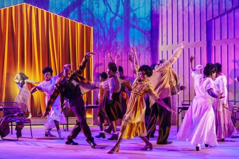 The cast of The Color Purple Photography by Manuel Harlan