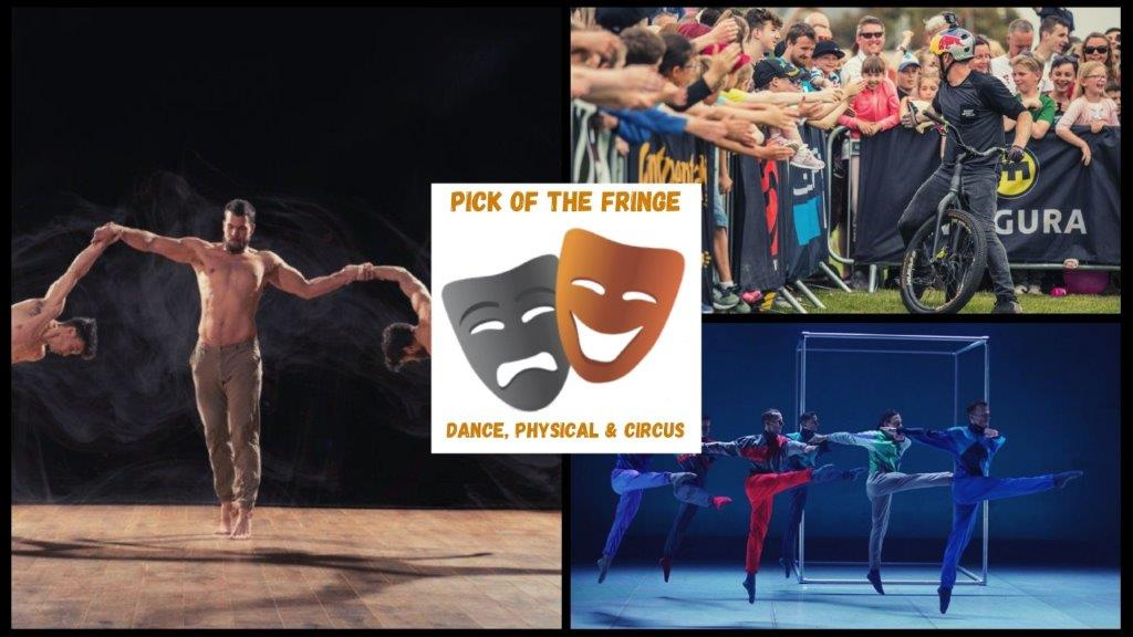 Top Dance Physical and Circus Shows to see at Edinburgh Fringe