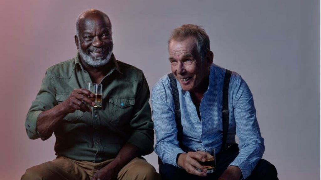 Joseph Marcell and Christopher Fairbank Sam Shepards Ages Of The Moon