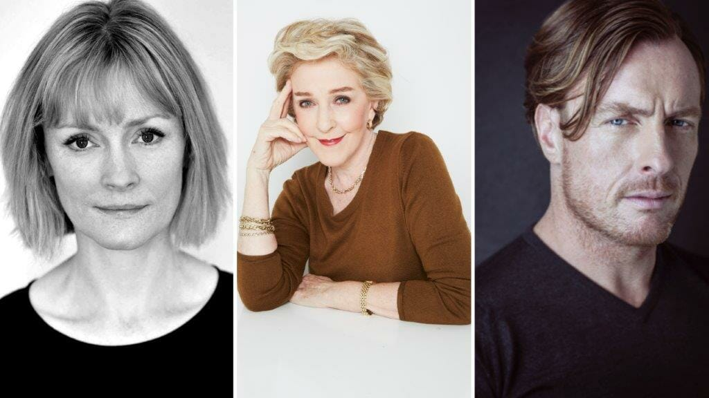Patricia Hodge ©Alisa Connan Joins Clare Skinner and Toby Stephens