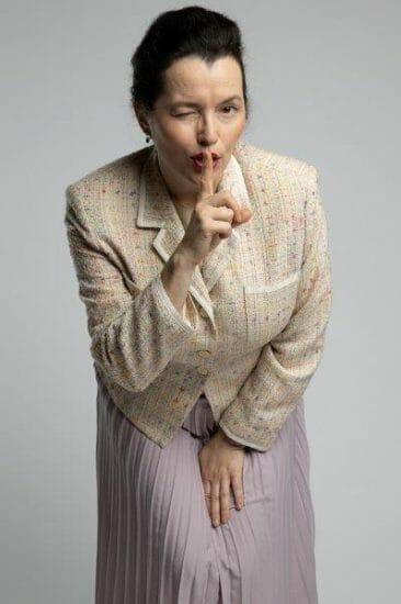Caroline Colomei as Elizabeth in The Wolf of Wall Street. Credit Cam Harle