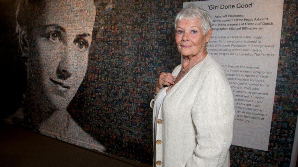 Dame Judi Dench at the Ashcroft Playhouse c Craig Sugden