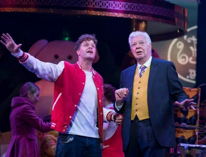 Jay McGuiness as Josh Baskin Matthew Kelly as George MacMillan. Credit Alastair Muir