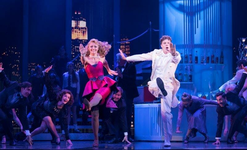 Kimberley Walsh as Susan Lawrence Jay McGuiness as Josh Baskin and the cast. Credit Alastair Muir