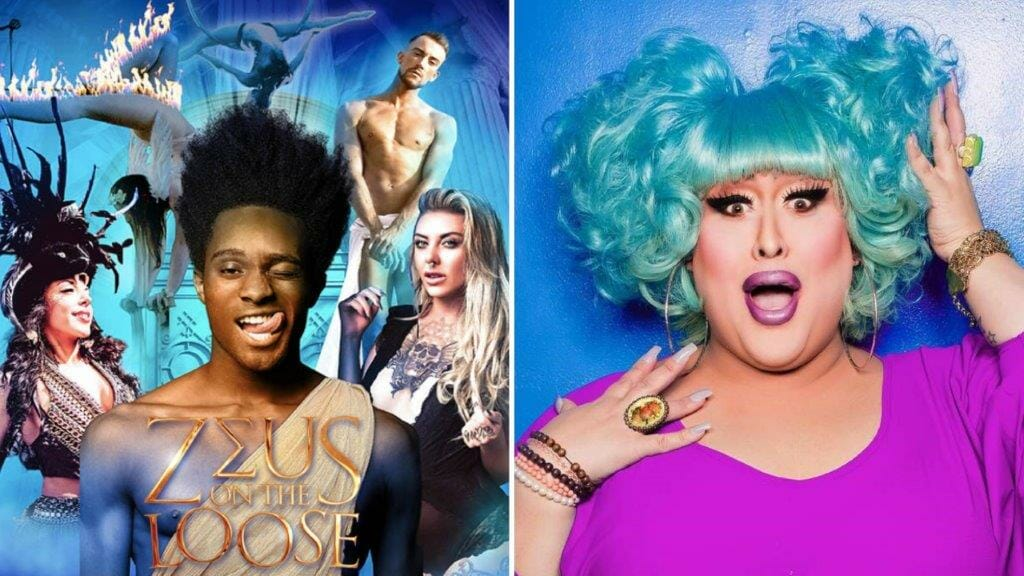 Zeus on the Loose with Vicky Vox