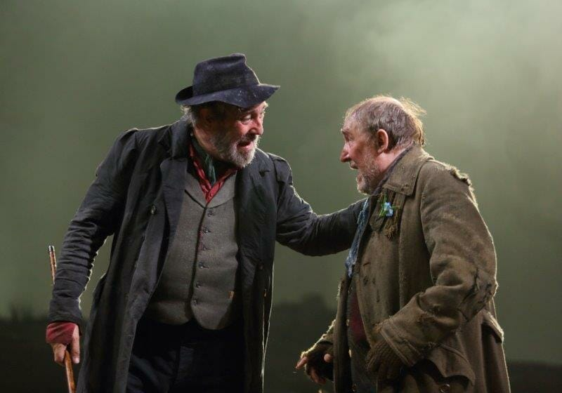 Ciarán Hinds Dermot Crowley in Translations by Brian Friel. Image by Catherine Ashmore.
