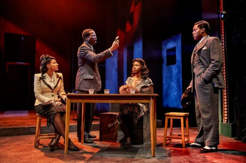 Nenda Neurer Sope Dirisu Carole Stennett Natey Jones in Death of a Salesman
