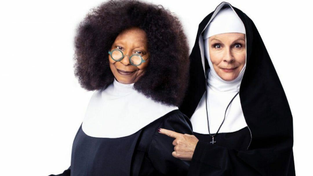 Whoopi Goldberg and Jennifer Saunders Sister Act c. Oliver Rosser
