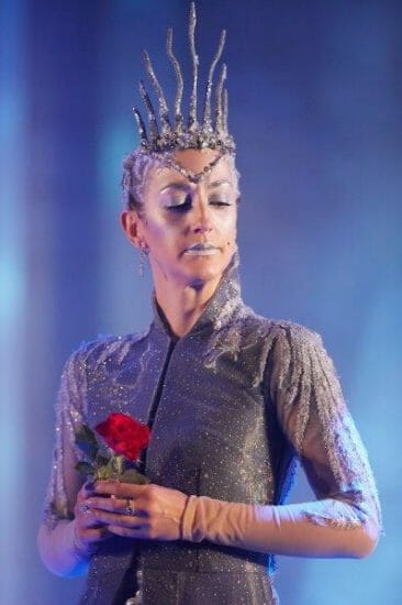 Helena Blackman Snow Queen Photo by Mark Douet