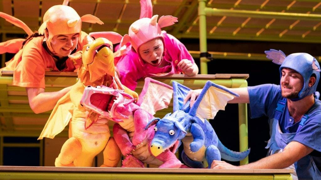 A previous cast of ZOG. Photo Credit Helen Maybanks