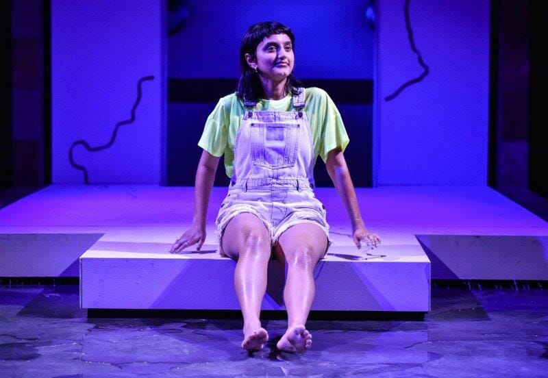 Aasiya Shah Lune in Unknown Rivers at Hampstead Theatre. Photo credit Robert Day.