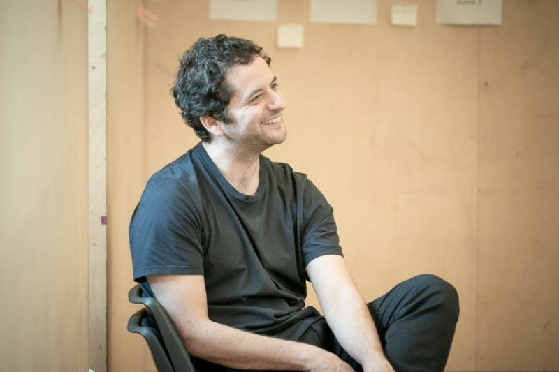Bijan Sheibani Director in rehearsals for The Arrival. Photo by Marc Brenner REH