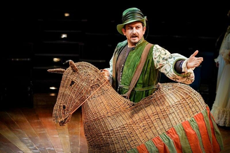 David Ahmad as Miles Hendon – The Prince and The Pauper Photo by Andrew Billington