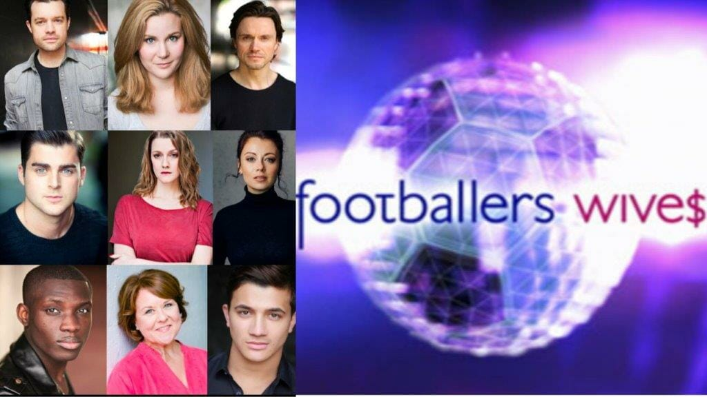 Footballers Wives Showcase Cast