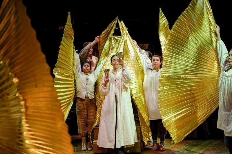 Gold Pageant The Prince and The Pauper Photo by Andrew Billington