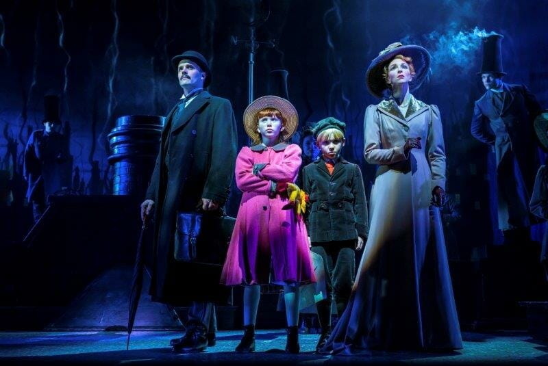 Joseph Millson Amy Griffiths and Company in Mary Poppins Photograph Johan Persson