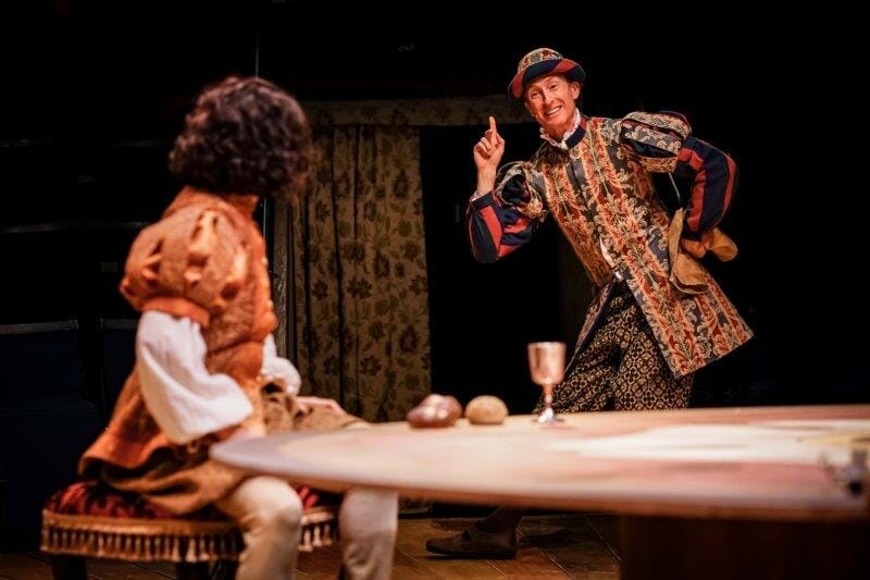 Kieran Buckeridge as First Lord of Everything The Prince and The Pauper Photo by Andrew Billington