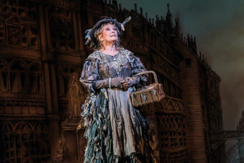 Petula Clark as The Bird Woman in Mary Poppins Photograph Johan Persson