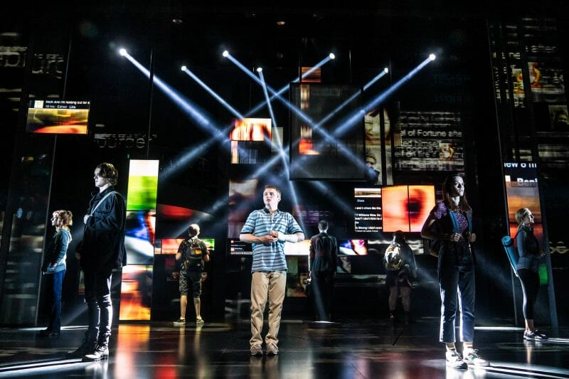 centre Sam Tutty Evan Hansen photo by Matthew Murphy