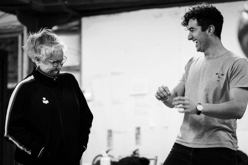 Emma Rice Director Marc Antolin Jean Rene. Photo by Steve Tanner