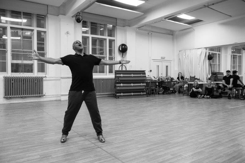 Gary Wilmot Goldilocks and the Three Bears London Palladium Rehearsals Photo Credit Craig Sugden