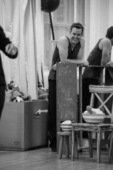 Matt Baker Goldilocks and the Three Bears London Palladium Rehearsals Photo Credit Craig Sugden