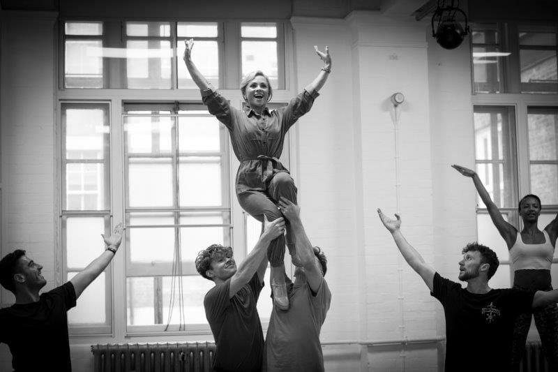 Sophie Isaacs Goldilocks and the Three Bears London Palladium Rehearsals Photo Credit Craig Sugden