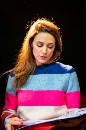 Honey Rouhani in rehearsals for Opera Undone Tosca La bohème credit Beastly Studios