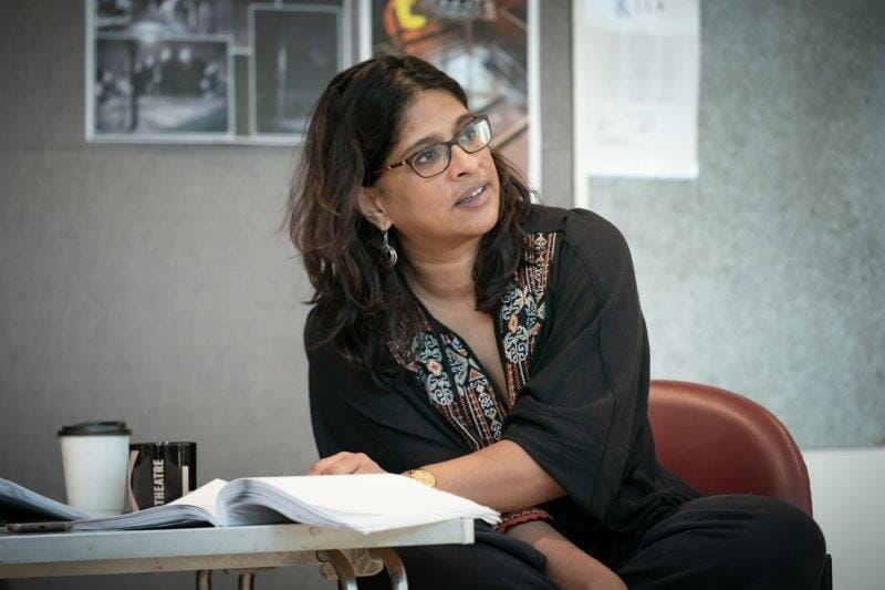 Indhu Rubasingham directs Pass Over by Antoinette Nwandu at Kiln Theatre. Marc Brenner