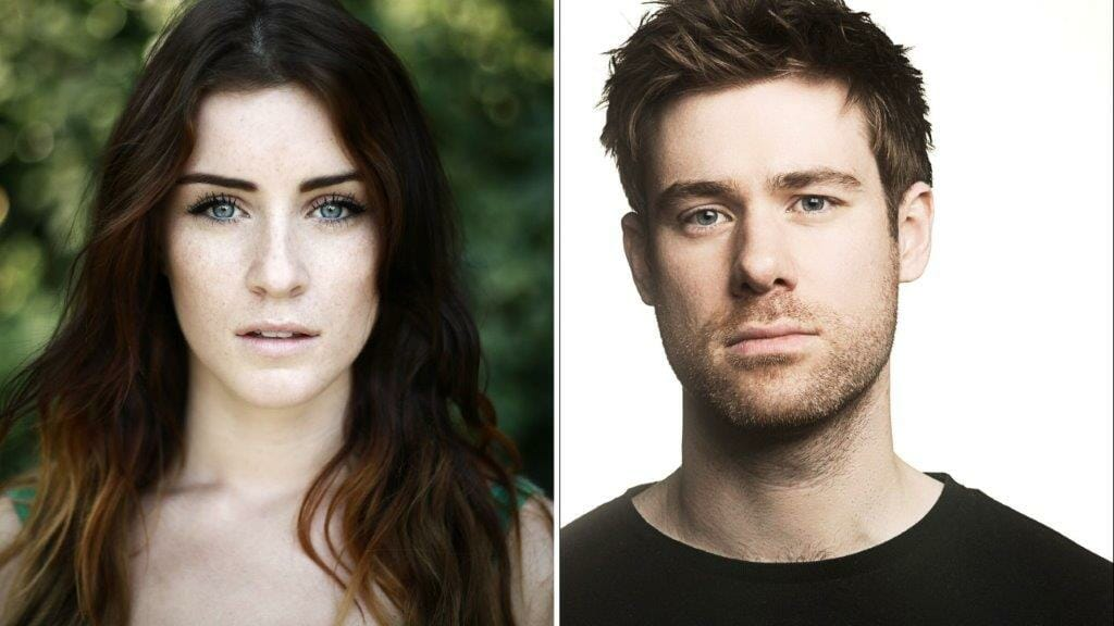 Lucie Jones and David Hunter