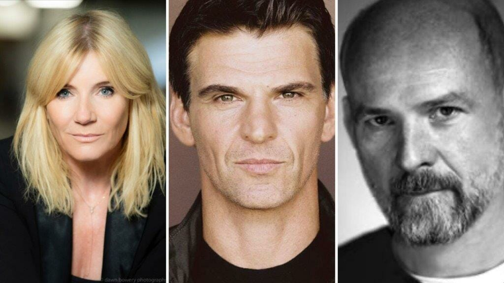 Michelle Collins Tristan Gemmill Paul Hickey The Birthday Party UK Tour