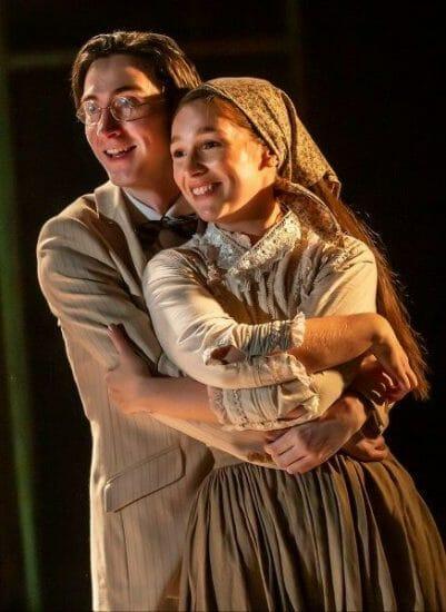 Oisin Nolan Powell as Ben Martha Kirby as Bella credit Pamela Raith