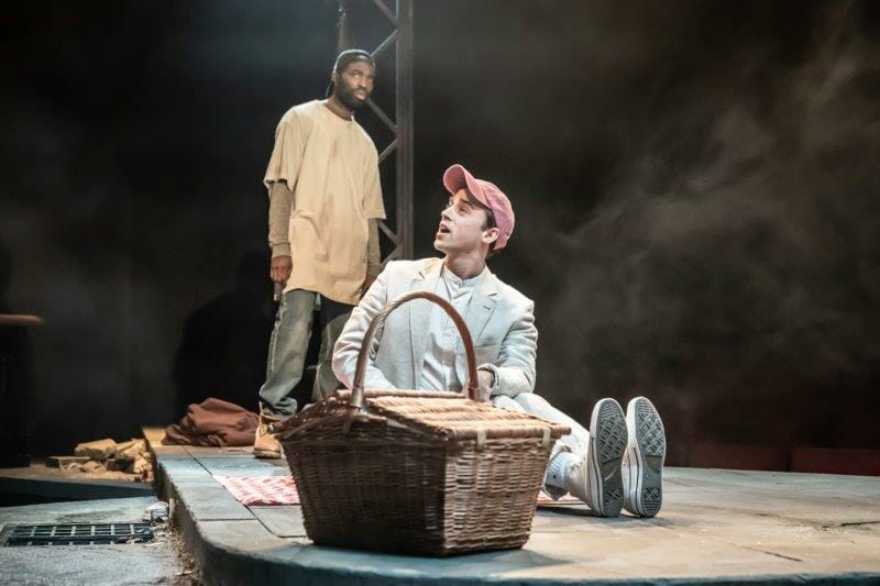 Paapa Essiedu and Alexander Eliot. Photos by Marc Brenner. Pass Over PROD