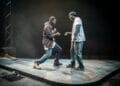Paapa Essiedu and Gershwyn Eustache Jnr. Photos by Marc Brenner. Pass Over PROD