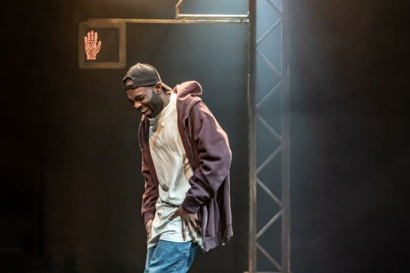 Paapa Essiedu. Photos by Marc Brenner. Pass Over PROD