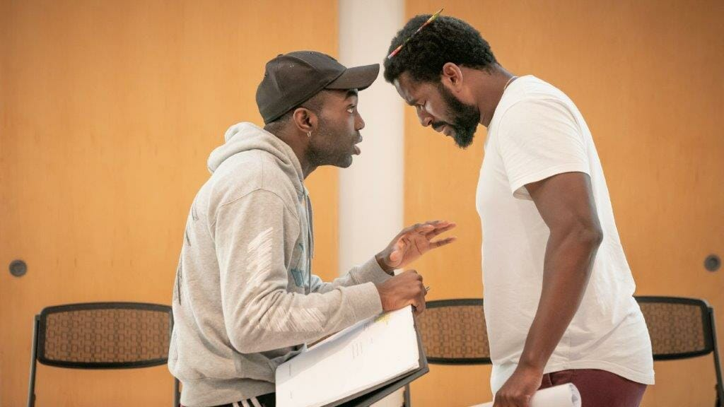 Pass Over Kiln Theatre in Rehearsal