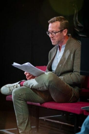 Philip Lee in rehearsals for Opera Undone Tosca La bohème credit Beastly Studios