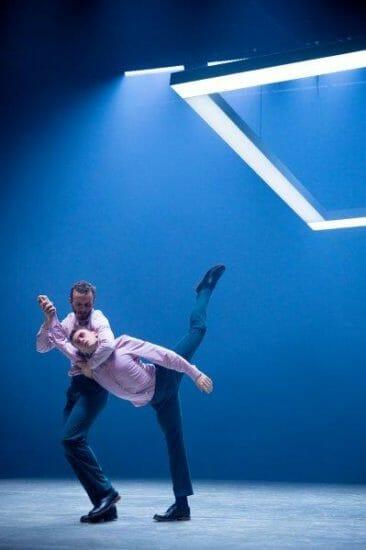 BalletBoyz presents Deluxe Bradley .. Harry Price and Benjamin Knapper. Credit George Piper