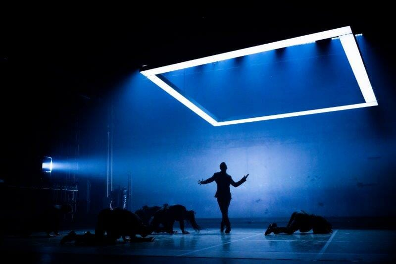 BalletBoyz presents Deluxe Bradley .. Liam Riddick centre. Credit George Piper