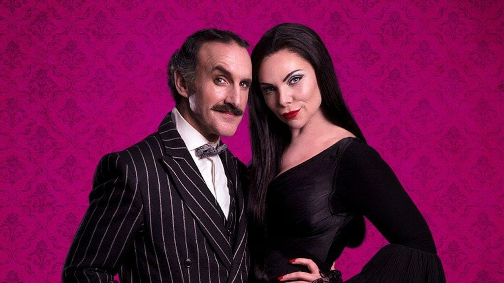 Cameron Blakely as Gomez and Samantha Womack as Morticia credit Matt Martin