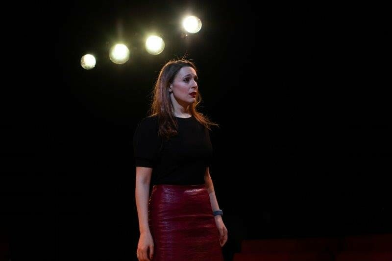 Honey Rouhani as Musetta Melissa in La bohème credit Ali Wright