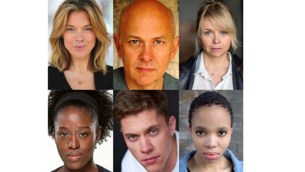Janie Dee Vincent Franklin Rebecca Lacey Michelle Asante Charlie Maher Lukwesa Mwamba Cast of Vanya and Sonia and Masha and Spike