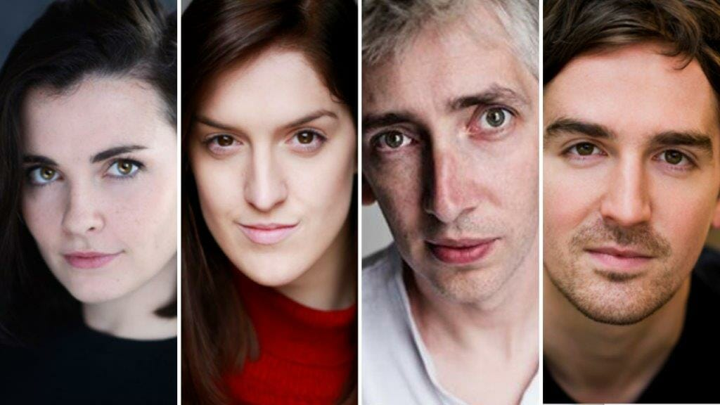 The Cast of The Old Red Lion Triptych