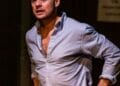 Alex Waldmann in THE MIKVAH PROJECT by Josh Azouz Orange Tree Theatre photo by The Other Richard